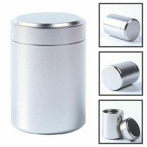 Металлическая герметичная баночка, герметичная баночка для тушения запаха, алюминиевая банка для заварки травы, керамическая трубка для ку...