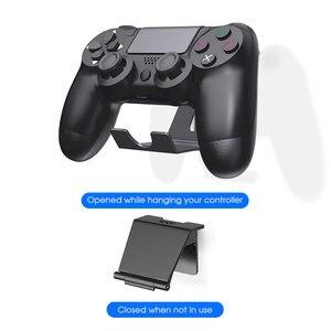 Image 3 - OIVO 2 Pack supporto da parete per Controller di gioco supporto per Controller PS4 supporto per cuffie supporto universale pieghevole per Gamepad