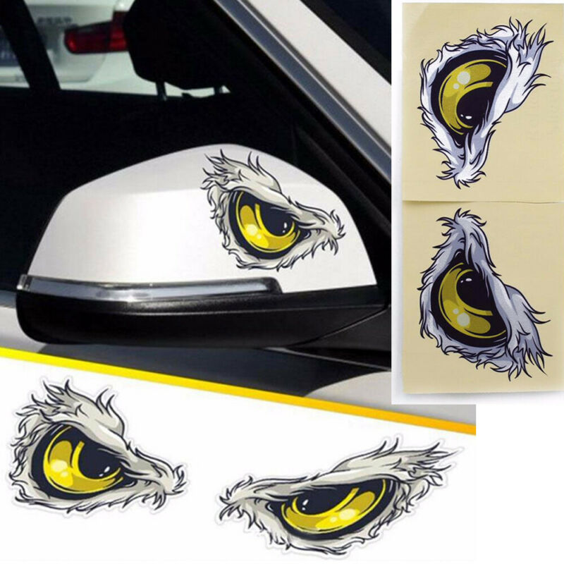 US Racing Car Auto SUV Funy Decal Stickers Fun Reflective Vinyl Graphic Sticker