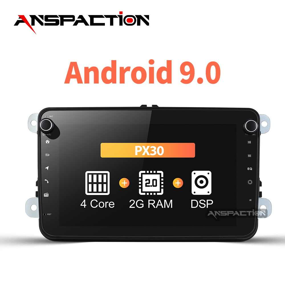 32G Auto Multimedia Player Android 9.0 Auto Radio Für Skoda/Sitz/Volkswagen/VW/Passat b7/ POLO/GOLF 5 6 DVD GPS navigation