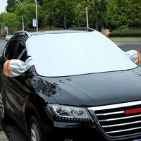 1pcs Car Windscreen Window Screen Cover Ice Frost Snow Dust Protector Protector Awnings  windshield snow Covers|Windshield Sunshades|   -