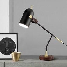 Современная настольная лампа металлическая e27 Светодиодный
