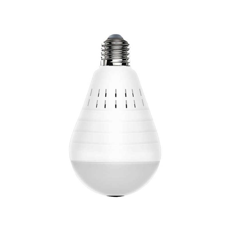 1080P Wireless IP Camera Bulb Light Lamp 360 degree FishEye Panoramic Home Camera 1.3MP Night Vision Security P2P WiFi Camera