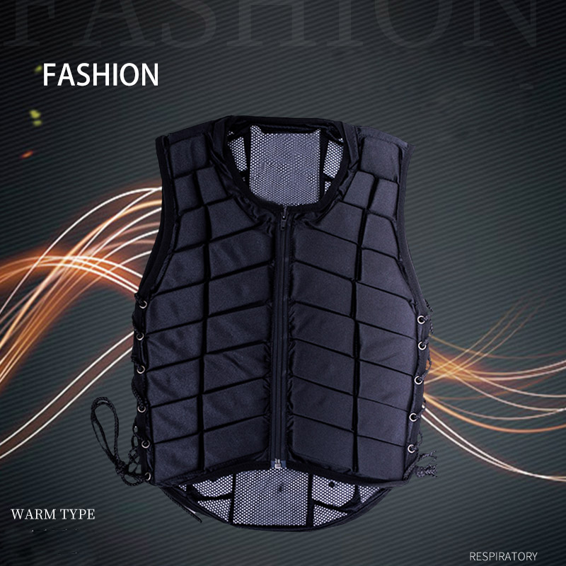 Newly Outdoor Safety Riding Equestrian Body Guard Vest Protectors Gear Kids Adult Rafting Kayak Vest