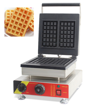 SUCREXU Commercial 2PCS Square Belgian Waffle Baker Maker Nonstick Stainless Steel Snake MachineCE 110v 220v стоимость