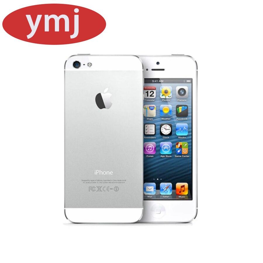 Apple – authentique smartphone iPhone 5 de 16, 32 ou 64 go débloqué, téléphone portable, GSM, 3G, écran de 4.0 pouces, connectivité Wifi, caméra de 8 mpx, WCDMA