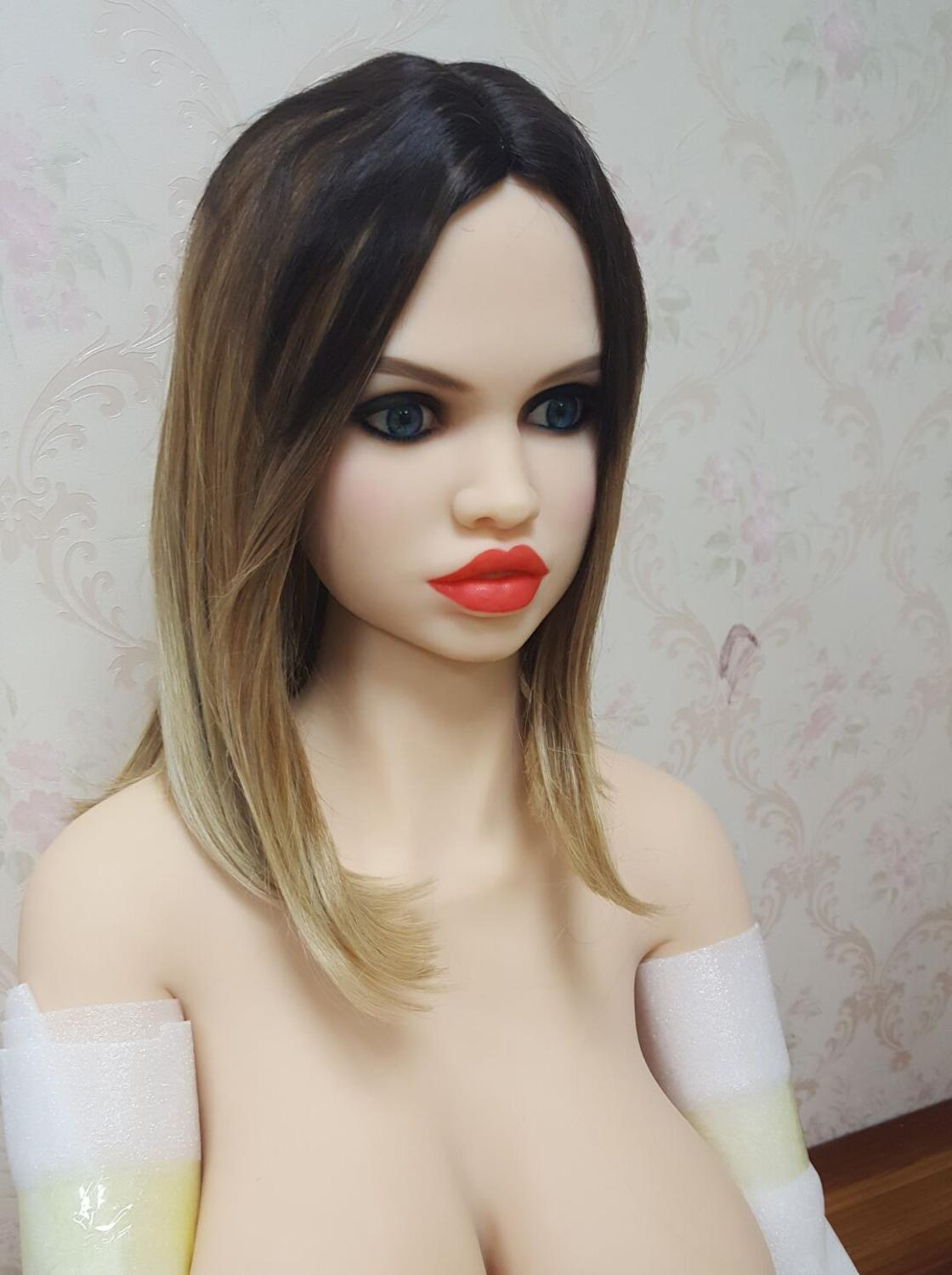 Europe face #66 oral <font><b>sex</b></font> <font><b>doll</b></font> <font><b>head</b></font> for big size 135cm/140cm/148cm/153cm/152cm/155cm/158cm/163cm/165cm/170cm image
