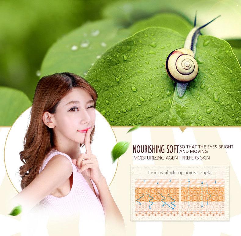 OneSping Face Cream Snail Cream Whitening Cream Aloe Vera Gel Eye Serum eye bags Anti Wrinkle Rorec Korean Face Care Cosmetics