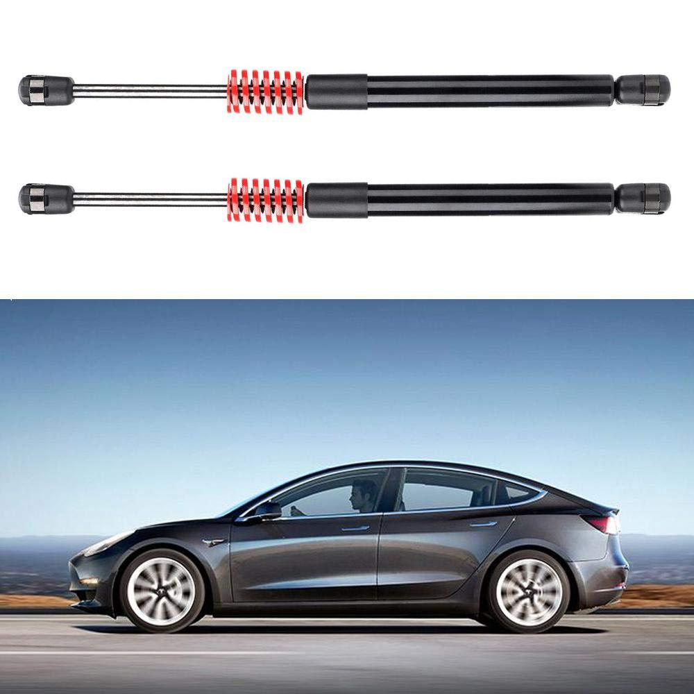2 Pcs Automatic Trunk Lift Supports Rear Trunk Struts with Spring and Stainless Steel Washer Kit for Tesla Model 3 rear trunk lift support