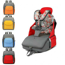 Baby portable safety car seat organizer multi-function dining chair bag booster free installation multi function baby portable folding dining table chair booster seat children eating chair dinner booster seat