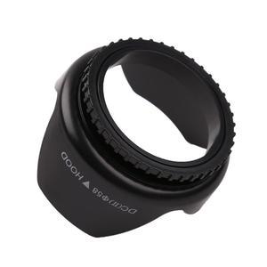 Профессиональная бленда для объектива в форме цветка лотоса с винтовым креплением 52 мм, 55 мм, 58 мм, 62 мм, 67 мм бленда для объектива Nikon Cannon sony