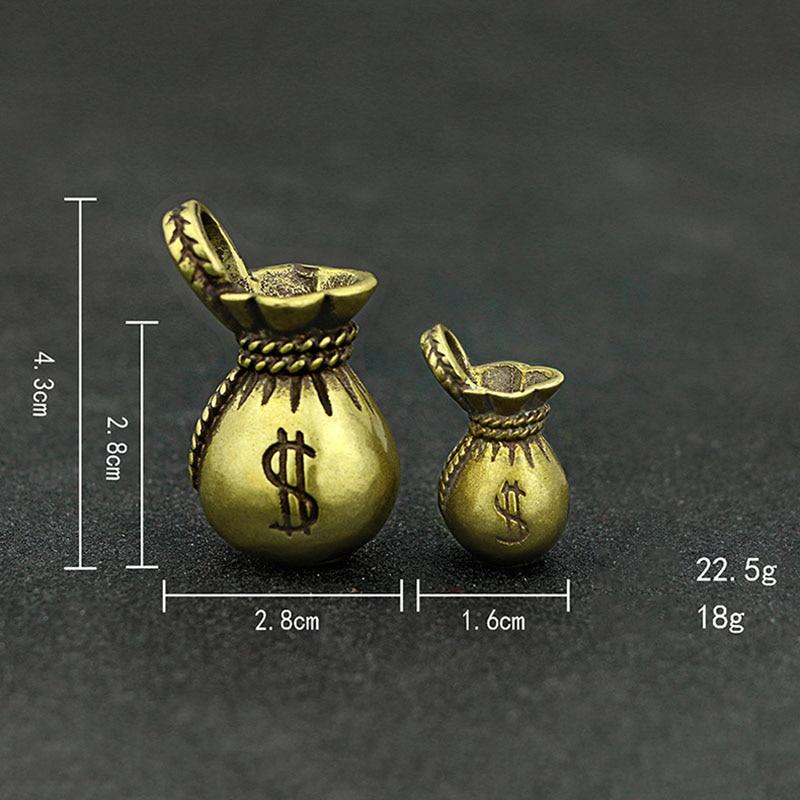 Lucky Money Bag Keychains Pendants (5)