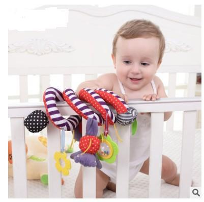 Large Amount Infant Multi-functional Colorful Bed Around Baby Music Bed Bell Bed Hanging Car Hanging Infant Multi-functional