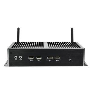 Image 2 - بدون مروحة كمبيوتر صغير صناعي إنتل كور i7 4500U i5 4200U ويندوز لينكس ثنائي جيجابت إيثرنت 6 * RS232/485 8 * USB 3G/4G LTE واي فاي