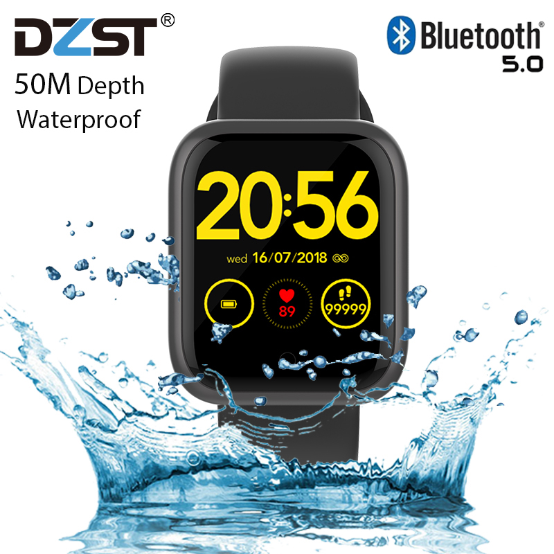 2020 GT1 Smart Watch IPX8 Waterproof Magnetic Charging Heart Rate For Apple Smart Watch Android XIAOMI HUAWEI SmartWatch Pk F10