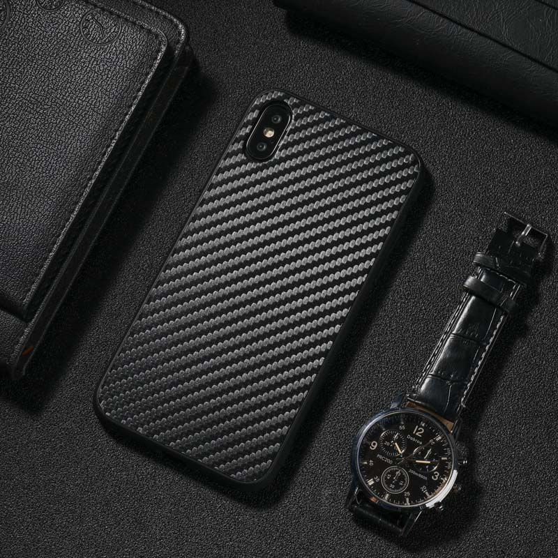For <font><b>Samsung</b></font> <font><b>Galaxy</b></font> A51 A71 A50 A30S A30 A10 A20 <font><b>A70</b></font> A40 Carbon Fiber Soft TPU <font><b>Case</b></font> Cover On For <font><b>Samsung</b></font> S20 Ultra S10 S9 S8 Plus image