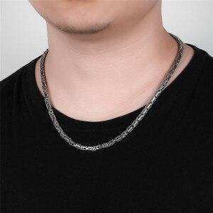 Image 5 - V.YA S925 männer Ketten 925 Sterling Silber Halskette Männer Drache Verschluss Schwere Dicke Kette Halskette Handarbeit Thai Silber Schmuck