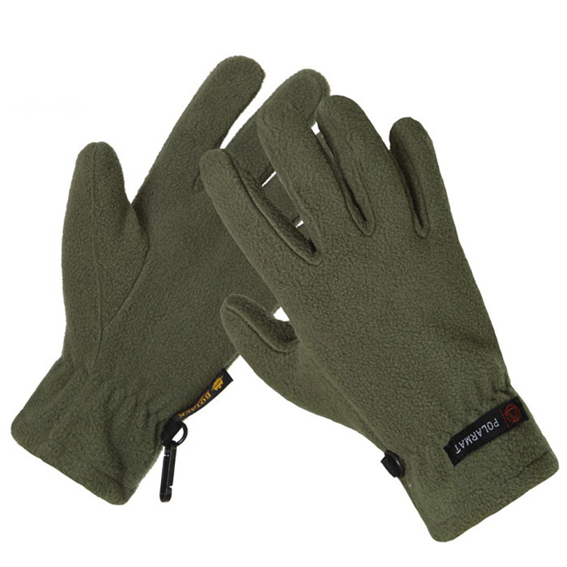 VIIANLES Fleece Gloves High Quality Autumn Winter Warm Men And Women Gloves Thermal Wincey Cold-proof Mountain Hunting M-XL