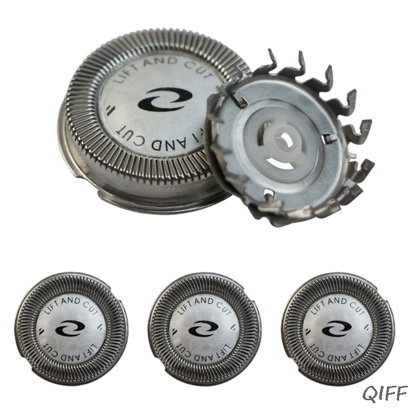 3x Replacement Shaver <font><b>Head</b></font> Blade Cutters For <font><b>Philips</b></font> Norelco HQ4 HQ58 HQ80 <font><b>HQ56</b></font> image