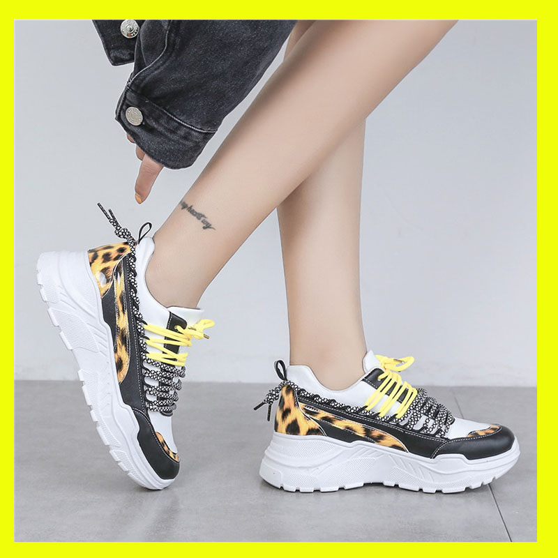 Fashion Leopard Sneakers Women Shoes Tenis Feminino Platform Shoes Women Sneakers Ladies Comfortable Trainers Chaussure Femme