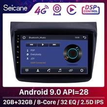 Seicane REPRODUCTOR estéreo para Mitsubishi Pajero Sport/L200/9,0 + Triton/2006 + PAJERO 2008, 9 pulgadas, Android 2010, RAM 2GB, GPS para coche