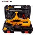 E-HEELP Автомобильный Электрический домкрат 12 В 3 Тонны с ручным гаечным ключом и колесным блоком Электрический автоматический подъемник ножн...