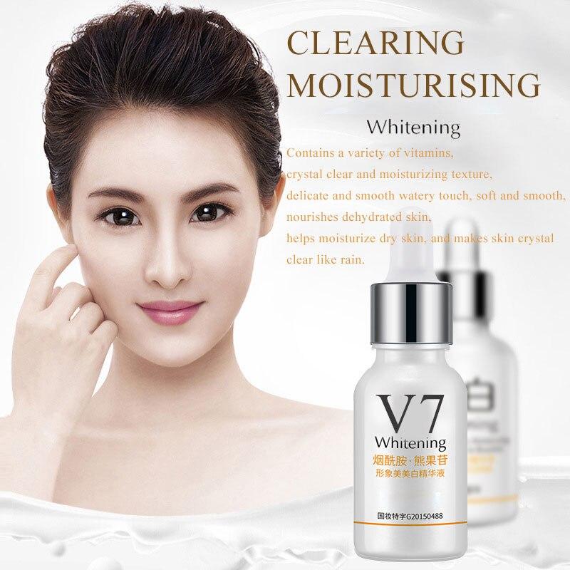 Humble V7 Whitening Essence Moisturizing Anti Wrinkle Nourishing Hyaluronic Acid Face Serum Shrink Pores Smooth Face Eseence Tslm1