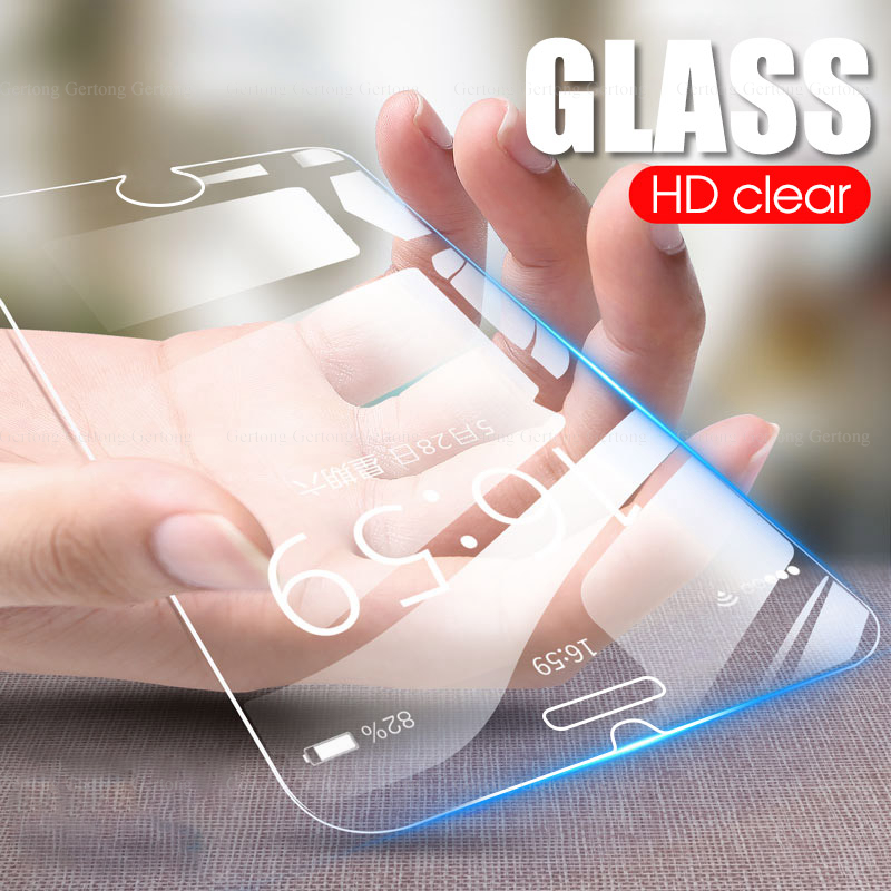 Premium Clear Screen Protector Glass film For iPhone 11 pro max 7 8 6 6s Plus 1