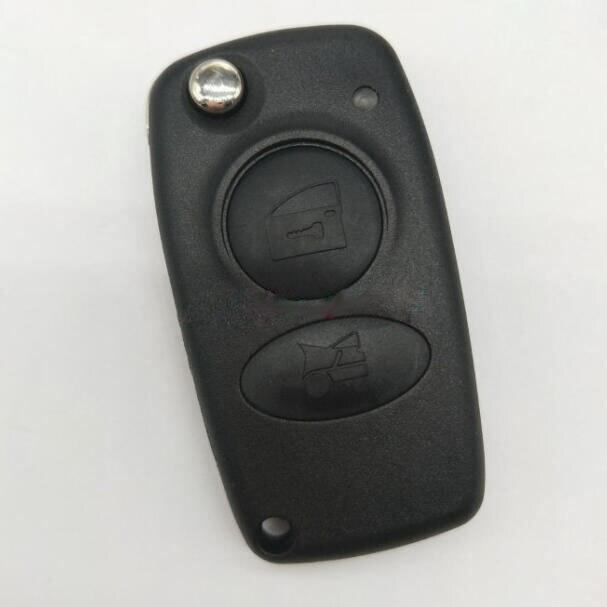2 кнопки, новый стиль, раскладной чехол для автомобильного ключа с дистанционным управлением для Alfa FOB, Сменный Чехол для автомобильного клю...