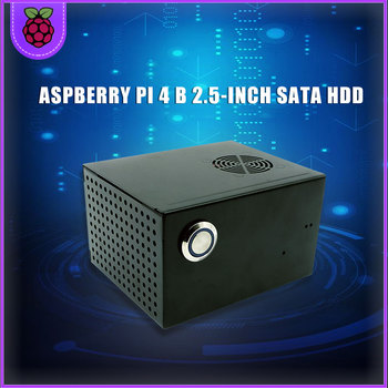 цена на Raspberry Pi 4 Model B 2.5 inch SATA HDD/SSD Storage Expansion Board, X825 USB3.1 Mobile Hard Disk Module for Raspberry Pi 4B
