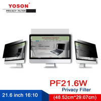 YOSON 21.6 inch Widescreen 16:10 LCD monitor screen Privacy Filter/anti peep film / anti reflection film