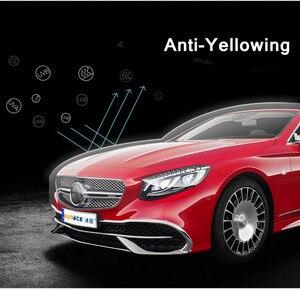 Image 1 - PPF SUNICE מכונית סרט הגנת צבע גוף רכב מבריק Invisible בד מגן סרט 100% שקיפות TPU אנטי צהוב חומר