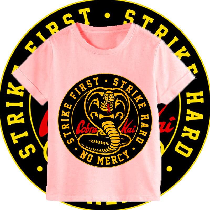 Nova moda crianças roupas tailandesas cobra venenosa kai t camisa adolescentes crewneck casual topos & t meninos imprimir engraçado camiseta