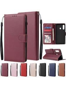 Кожаный чехол-книжка с бумажником для Samsung A71 A01 A11 A12 A21S A31 A41 A51 A10 A20 A20e A70, чехол для Galaxy A3 A5 A7 2017 A6 A8 2018