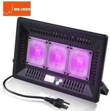 Disco dj led efeito de luz de palco uv lâmpada ultravioleta preto par laser festa ktv natal dia das bruxas máquina spotlight lanterna