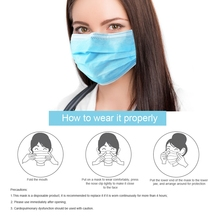 Ship in One Day 50PCS Anti-dust virus KN95 face Mask Medical Surgical Mouth Masks 3 Layer n95 mask medical mask N95 Safe