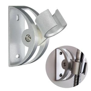 Aluminum Shower sprinkler Head Holder Bathroom Accessories Wall Socket Mount Sprayer Practical Bracket