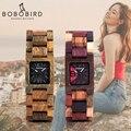 Часы BOBO BIRD женские  деревянные  кварцевые  25 мм
