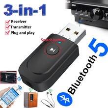 3 в 1 usb bluetooth 50 аудио передатчик приемник адаптер для