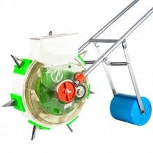 Ekici mısır soya tahıl sebze isteğe bağlı hassas ekici el itme tipi ekme makinesi