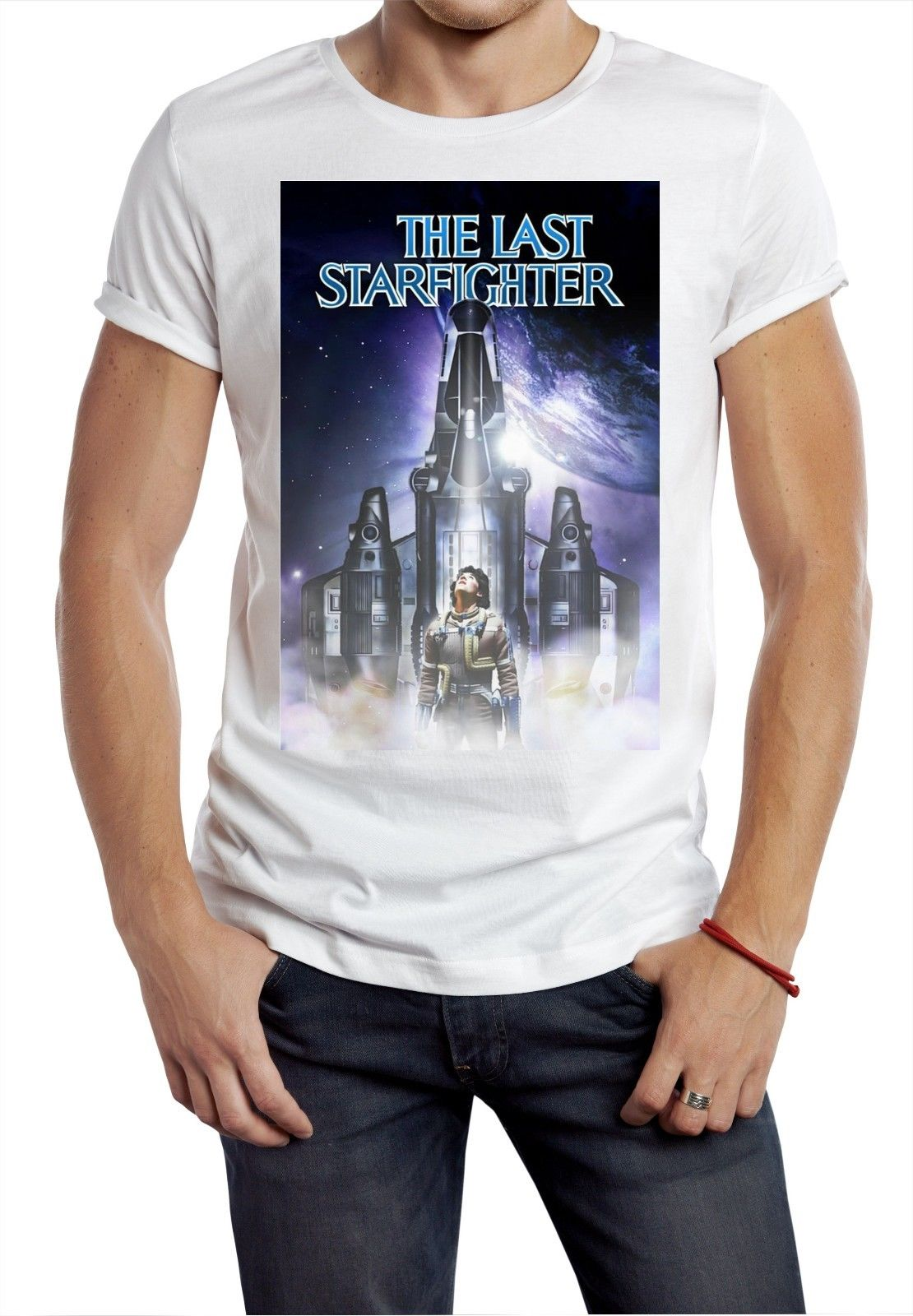 Last Starfighter T Shirt 80s Retro Gamer Movie Classic Cult Tee Space War Cool Fashion Men T-Shirt Free Shipping Top Tee image