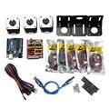 Профессиональный 3d принтер с ЧПУ модуль комплект для Arduino 3d принтер  Nema 17 шаговый двигатель + CNC щит + для UNO R3 доска + Mechanica