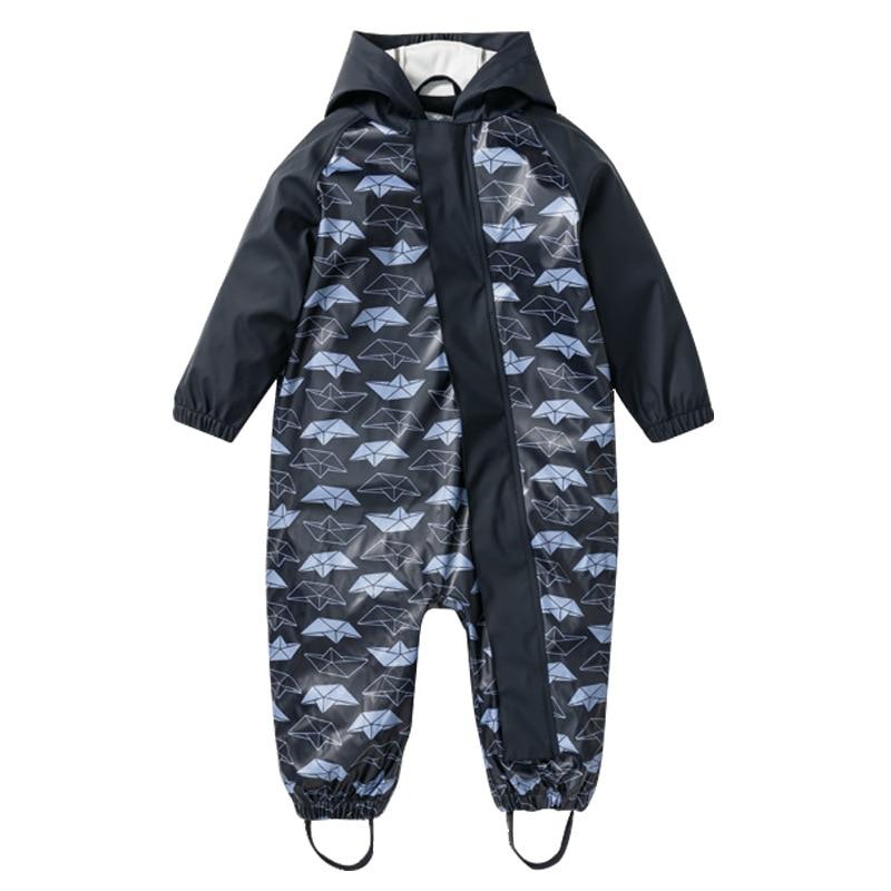 Girls Boys Waterproof Overalls Outdoor Pants High Quality Kid Windproof Rain Pants Children's  rain Trousers