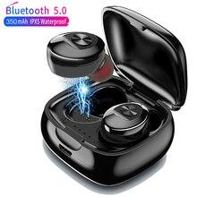 XG12 Bluetooth 5.0 TWS kulaklık Stereo kablosuz kulakiçi HIFI ses spor kulaklık Handsfree oyun mikrofonlu kulaklık telefon için
