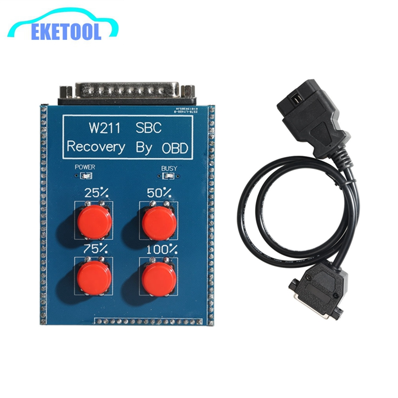 W211 SBC Reset Tool SBC Repair Tool For Mercedes-Benz OBD2 Reocvery Tool C249F SBC ABS W211 R230 Recovery By OBD Directly