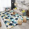 Скандинавские ковры геометрической формы для гостиной современная домашняя спальня ковер диван журнальный столик коврик для Кабинета пол ...