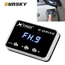 Для Nissan Navara NP300 2015 + TROS TS-6Drive мощный усилитель электронный контроллер дроссельной заслонки для трансмиссии автомобиля