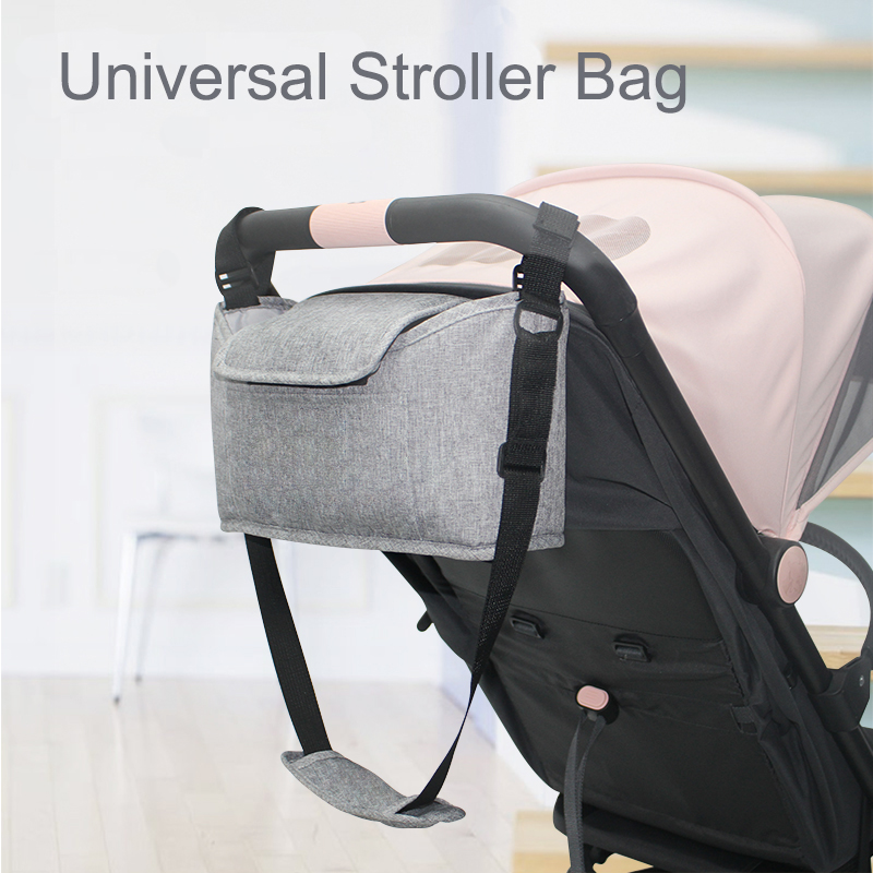 Pouch Universal Holder Pushchair Stroller Organizer Trolley Accessories Cup Bag