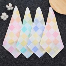 Квадратное Двухслойное полотенце для новорожденных 5 цветов