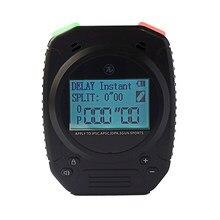 Torta especial tiro temporizador para arma de fogo airsoft ipsc treinamento temporizador cronômetro digital relógio cronógrafo contador